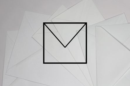 White - Square Format Envelopes
