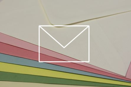 Coloured Envelopes - Pastel Colours - 100g