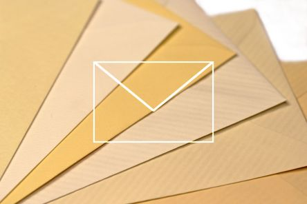 Coloured Envelopes - Laid, Hammer & Ribbed - 100g
