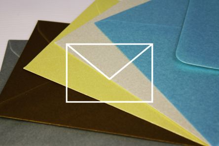 Coloured Envelopes - Designer Colours 100g