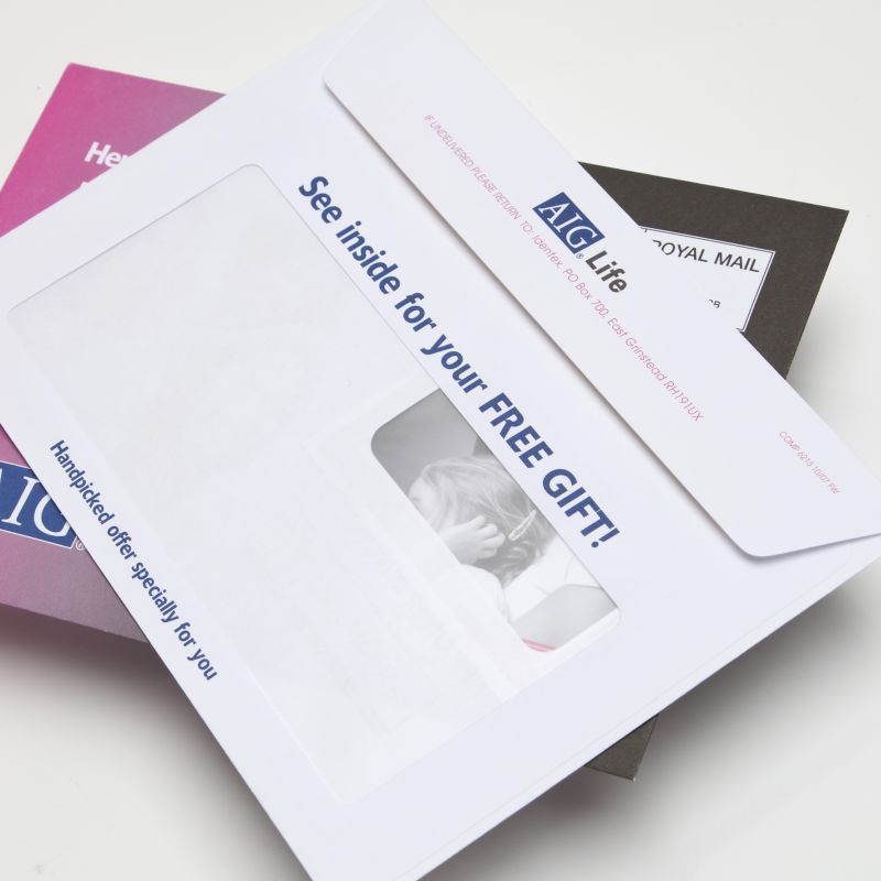 Bespoke envelopes uk design your custom envelope for Window envelope design