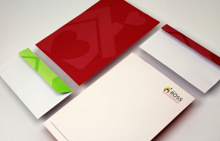 Coordinating Letterheads & Envelopes Gallery