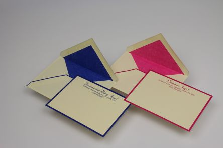 Tissue Lined Envelopes & Invite Cards Gallery
