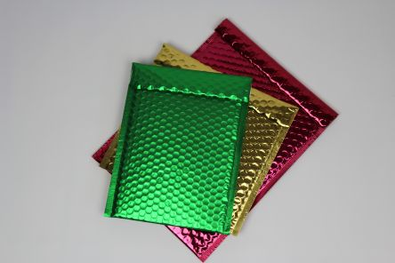 Metallic Bubble Mailers Gallery