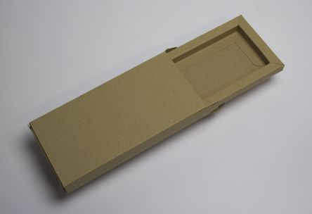 Bespoke kraft box with shoulder edge and slipcase Gallery