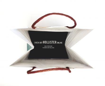 Internal message within bag Gallery
