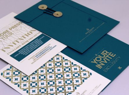 Foil Blocked Invites & Bespoke Envelopes Gallery