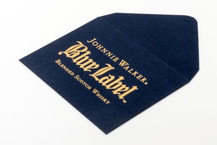 G F Smith Imperial Blue Gold Foil Block Envelope Gallery