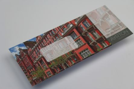 Digitally Printed Envelope - With bleed off all edges Gallery