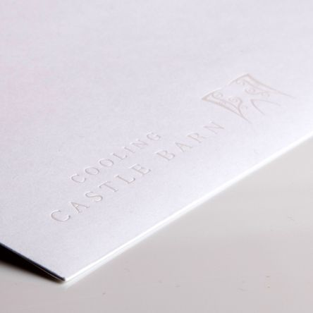 Castle Barn Subtle Foil Printed Envelope Gallery