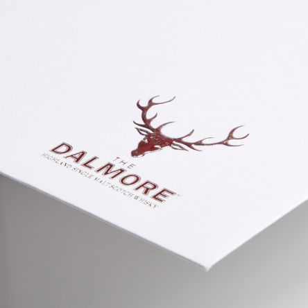 Embossed Dalmore Logo - Foil Blocked Envelope Gallery