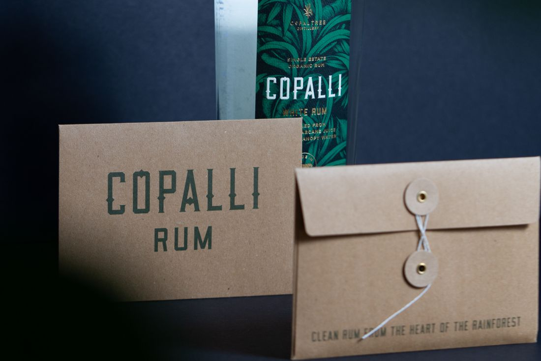 Copalli RUm Custom Packaging