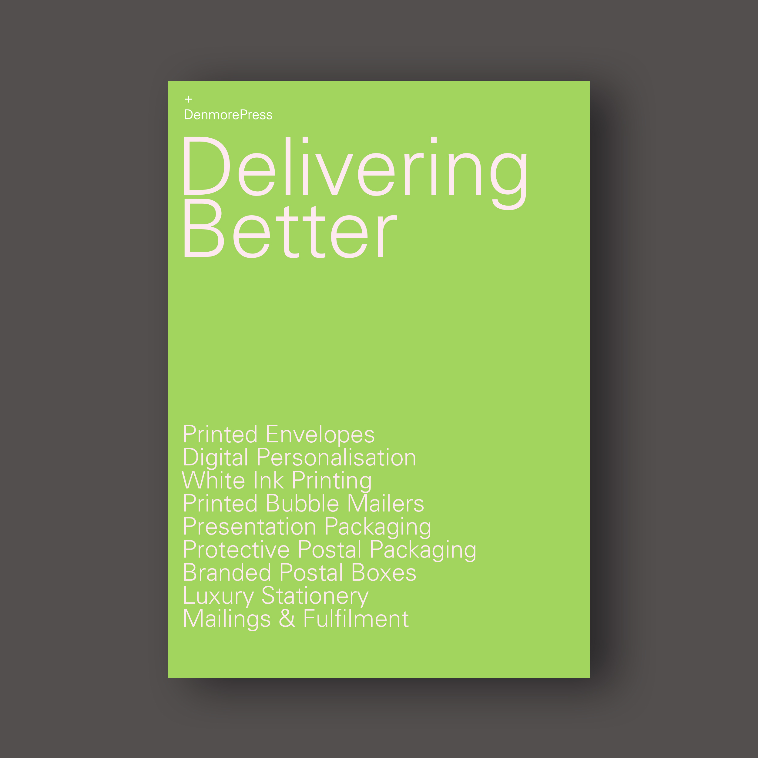 Delivering Better