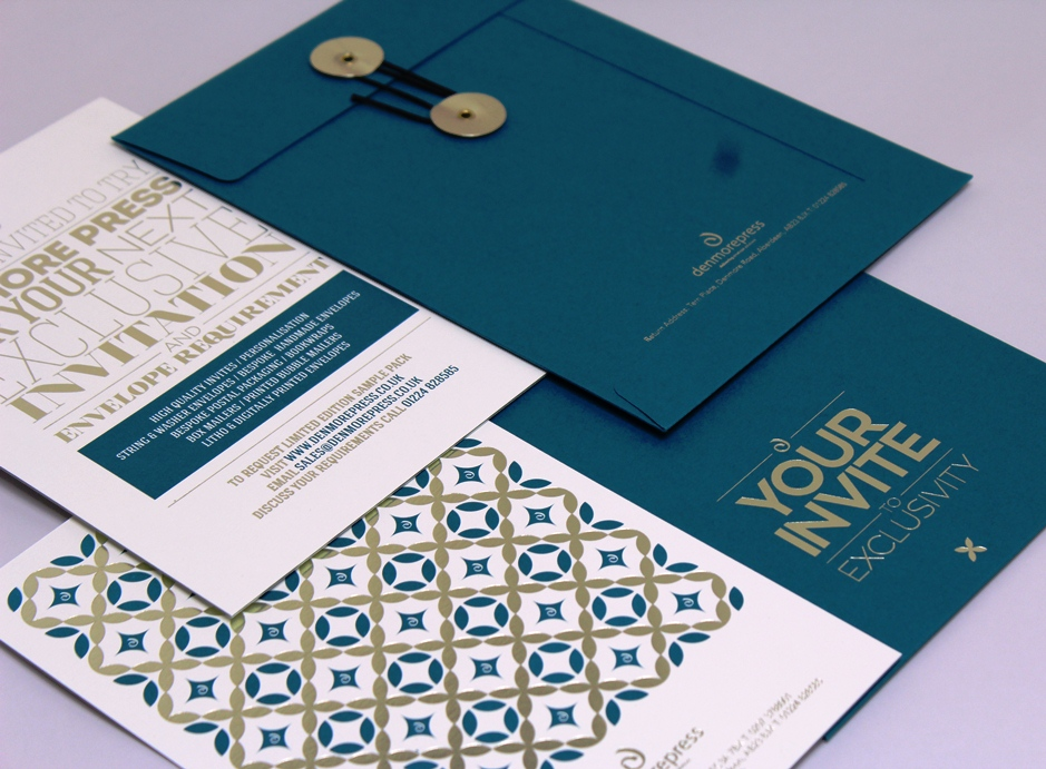 Bespoke Invitation - Samples
