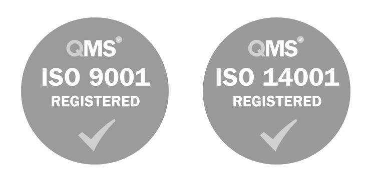NEW - ISO registered