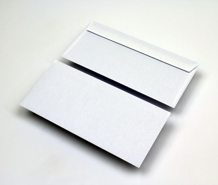 WALLET Peel & Seal White Envelope
